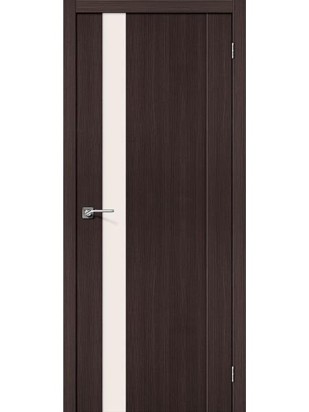 Межкомнатная дверь el'PORTA (Эль Порта) Porta X эко шпон Порта-11 Wenge Veralinga Magic Fog Triplex, полотно
