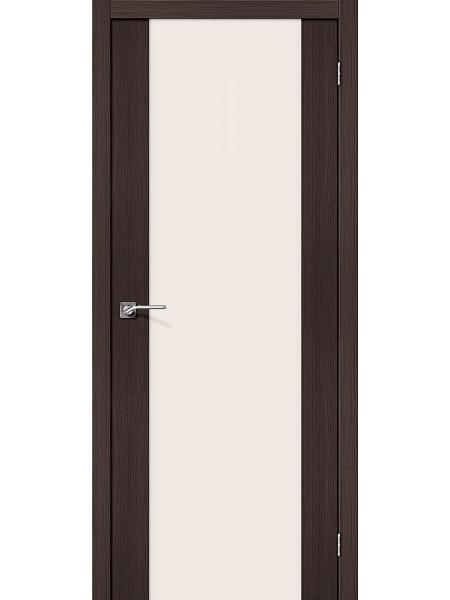 Межкомнатная дверь el'PORTA (Эль Порта) Porta X эко шпон Порта-13 Wenge Veralinga Magic Fog Triplex, полотно