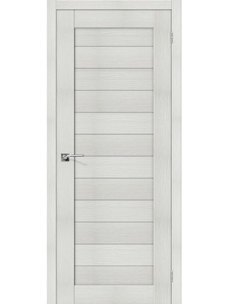 Межкомнатная дверь el'PORTA (Эль Порта) Porta X эко шпон Порта-21 Bianco Veralinga, полотно