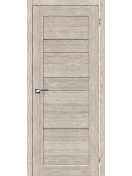 Межкомнатная дверь el'PORTA (Эль Порта) Porta X эко шпон Порта-21 Cappuccino Veralinga, полотно
