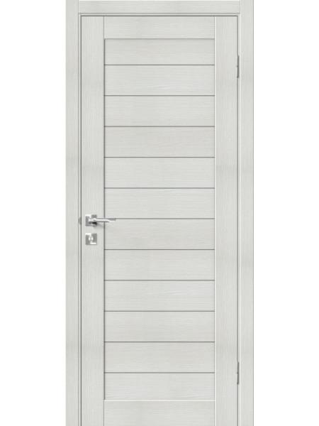 Межкомнатная дверь el'PORTA (Эль Порта) Block эко шпон Порта-21 (1П-03) Bianco Veralinga, полотно