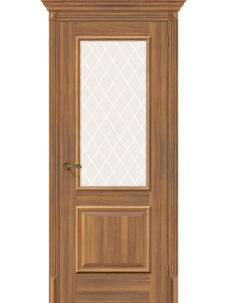 Межкомнатная дверь el'PORTA (Эль Порта) Classico S эко шпон Классико-13 Golden Reef White Crystal, полотно