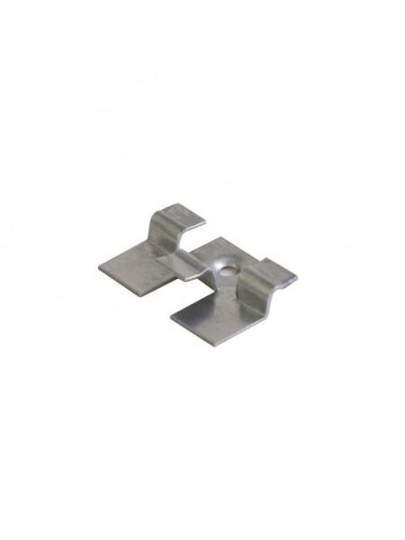 Кляймер стальной для террасной доски из ДПК EuroDeck (ЕвроДек) упаковка 100шт.