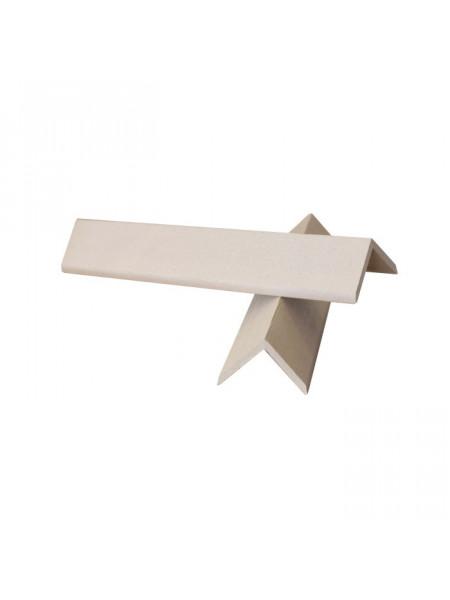 Уголок торцевой для террасной доски из ДПК EuroDeck (ЕвроДек) Натур