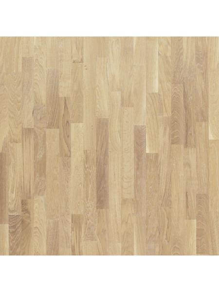 Паркетная доска Focus Floor (Фокус Флор) Дуб Калима белое масло (Calima White) трехполосная