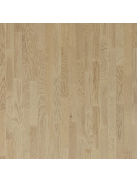 Паркетная доска Focus Floor (Фокус Флор) Ясень Грегале белое масло (Gregale White) трехполосная