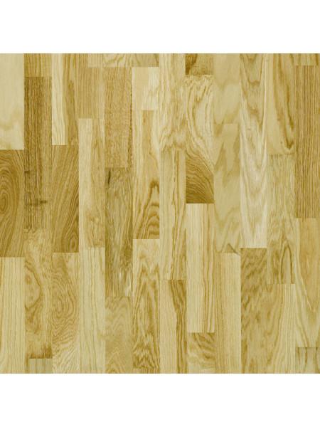 Паркетная доска Focus Floor (Фокус Флор) Дуб Либецио глянцевый (Libeccio High Gloss) трехполосная