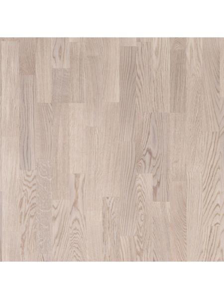 Паркетная доска Focus Floor (Фокус Флор) Дуб Остро белый матовый (Ostro White) трехполосная