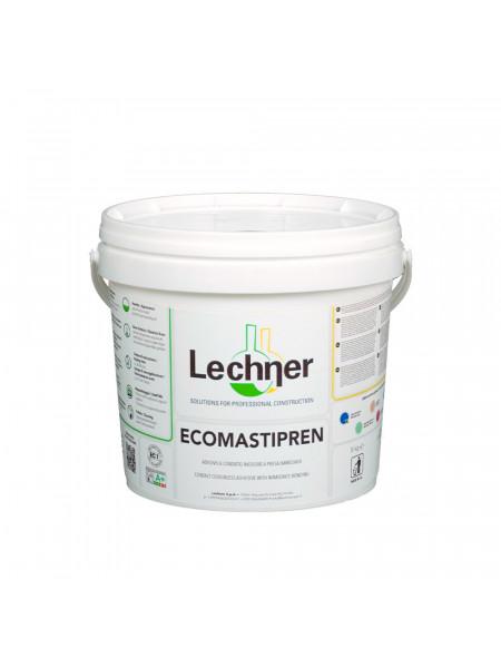 Клей Lechner Ecomastipren воднодисперсионный, контактный, 2,5 кг