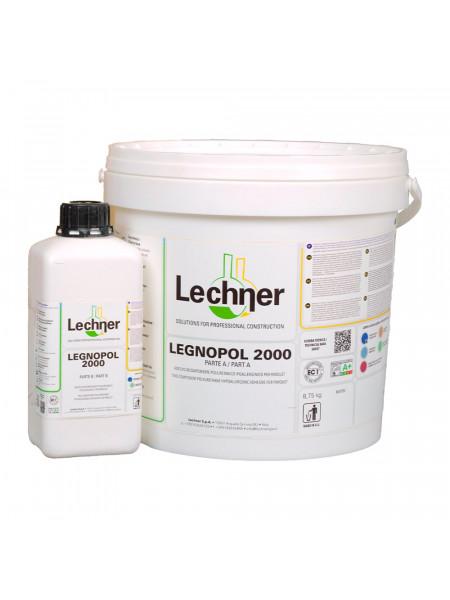 Клей Lechner Legnopol 2000 двухкомпонентный, полиуретановый, 10 кг (8,75+1,25кг)