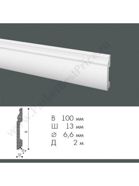 Плинтус из дюрополимера NMC WallStyl 100х13 FB2, 1 м.п.