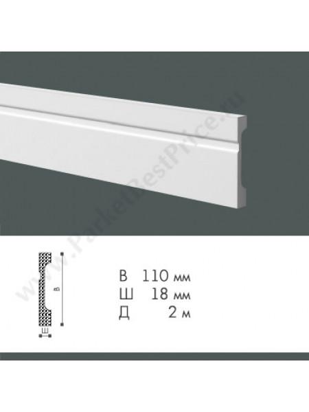 Плинтус из дюрополимера NMC WallStyl 2000х110х18мм FD11