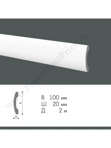 Плинтус из дюрополимера NMC WallStyl 2000х100х20мм FD3