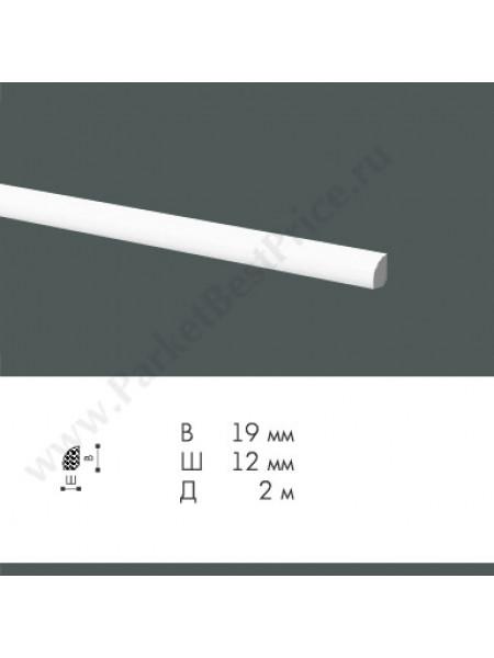 Плинтус из дюрополимера NMC WallStyl 19х12 FL6, 1 м.п.