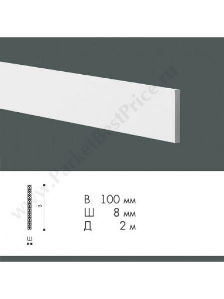 Плинтус из дюрополимера NMC WallStyl 100х8 FL9, 1 м.п.