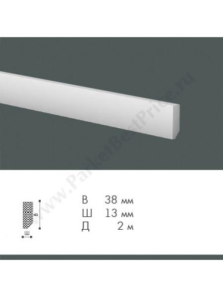Плинтус из дюрополимера NMC WallStyl 38х13 FT1, 1 м.п.
