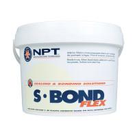 Клей для паркета NPT S-Bond Flex однокомпонентный, на базе МС-полимера, 16 кг.