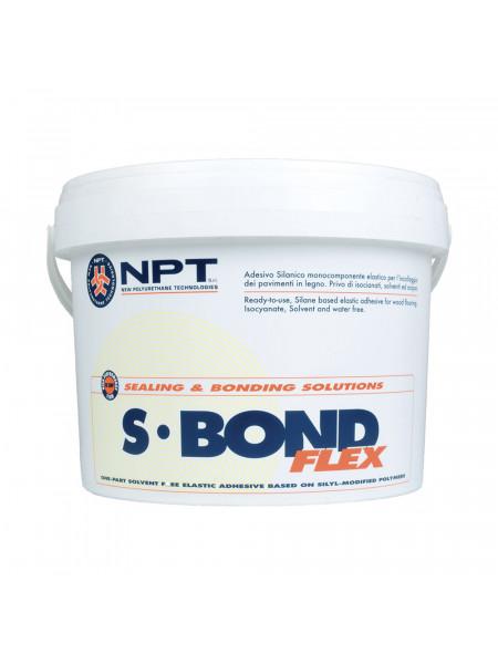 Клей для паркета NPT S-Bond Flex однокомпонентный, на базе МС-полимера, 14 кг. (7+7кг)