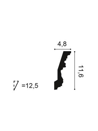 Карниз Orac (Орак) C201 116х48, 1 м.п.