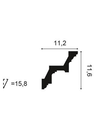 Карниз Orac (Орак) C211 116х112