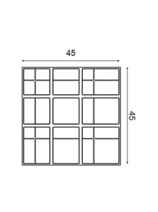 Панель декоративная Orac (Орак) W104 Kilt 450х450х36мм