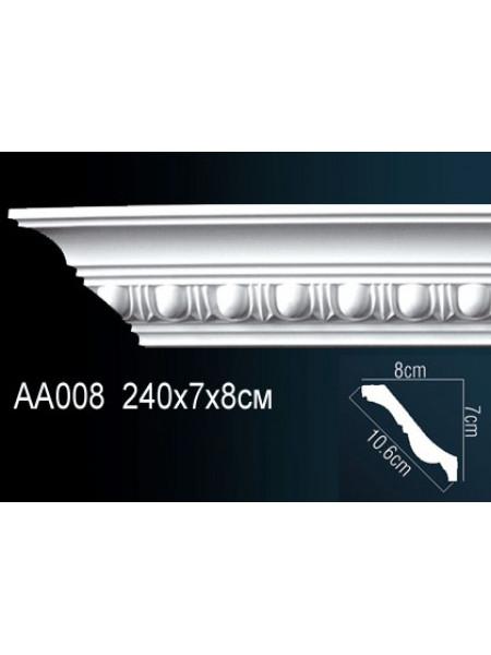 Карниз Perfect (Перфект) AA008, 1 м.п.
