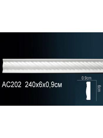 Молдинг Perfect (Перфект) AC202 60х9, 1 м.п.