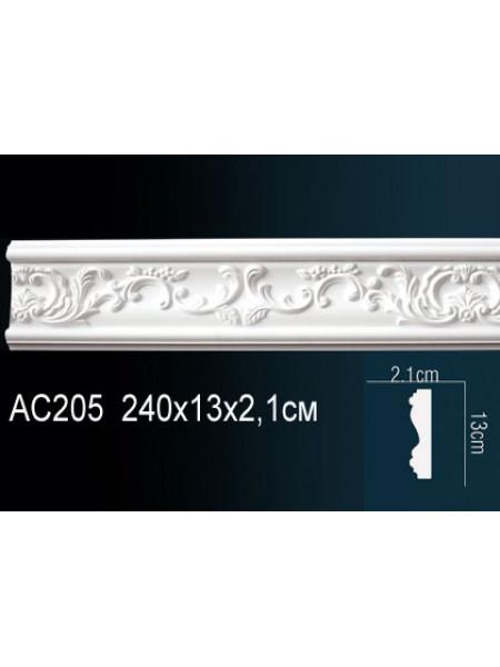 Молдинг Perfect (Перфект) AC205 130х21, 1 м.п.