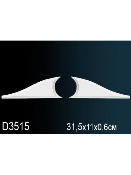 Дверной декор Perfect (Перфект) D3515 (комплект 2шт - лев+пр)
