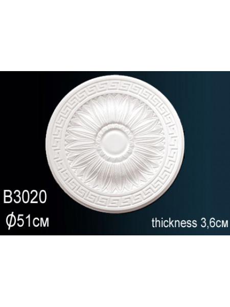 Розетка потолочная Perfect (Перфект) B3020