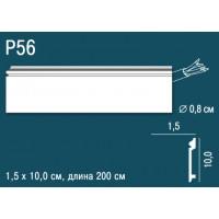 Плинтус из дюрополимера Perfect Plus (Перфект Плюс) P56 100х15, 1 м.п.