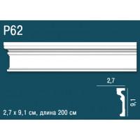 Молдинг Perfect Plus (Перфект Плюс) P62 91х27, 1 м.п.