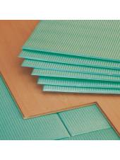 Подложка листовая для паркетной доски и ламината из пенополистирола 1000х500х3мм.