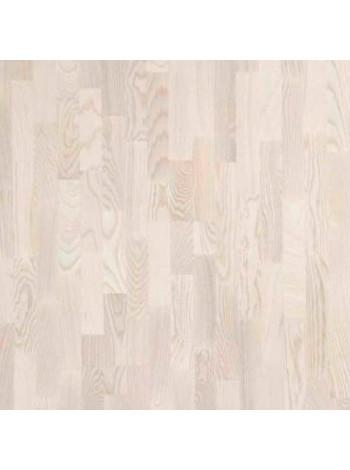 Паркетная доска Polarwood (Поларвуд) ясень Living White Matt (Ливинг Вайт Матт)