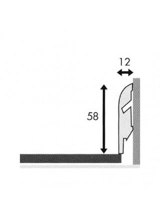 Плинтус Quick Step МДФ Стандартный 58х12 (все фактуры и цвета), 1 м.п.