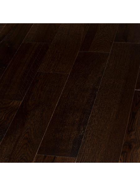 Массивная доска Royal Parket (Роял Паркет) Массив Дуб Шоколад браш