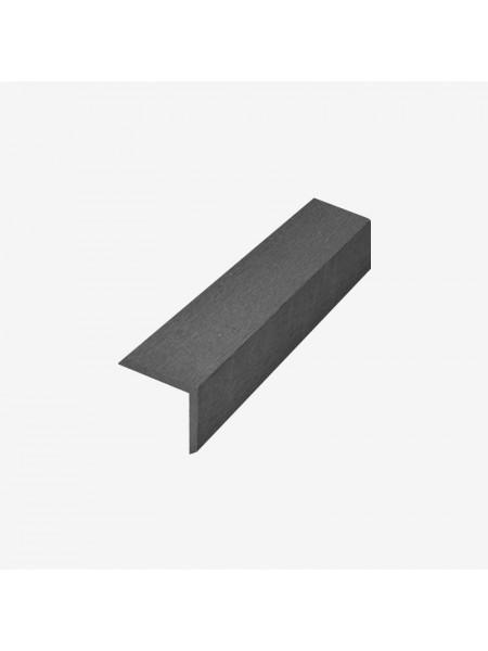 Декоративный угол (L-планка) RusDecking 53x53 графит