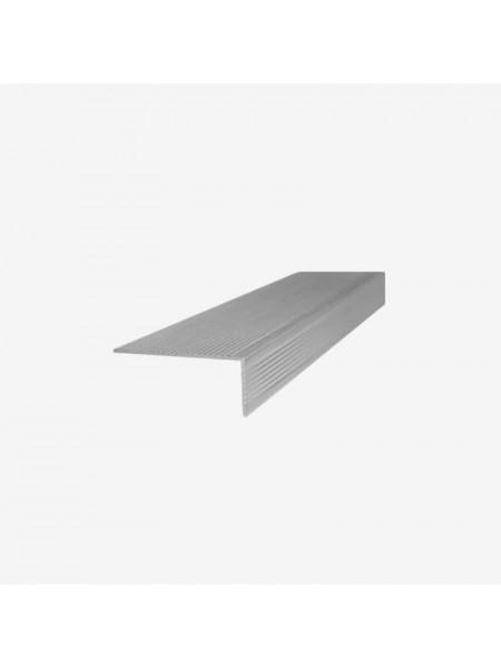 Декоративный угол (L-планка) RusDecking 60x40 серый