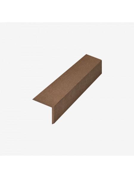 Декоративный угол (L-планка) RusDecking 53x53 венге