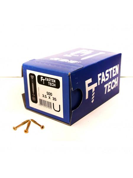 Саморезы Fasten Tech 3,5х35 мм  упаковка 500 шт.