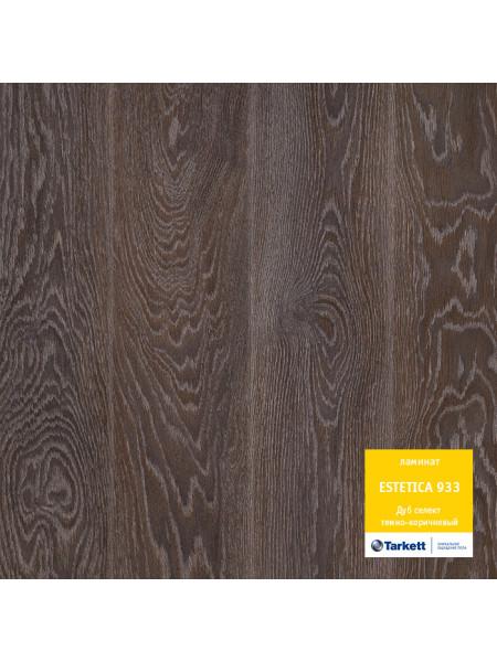 Ламинат Tarkett (Таркетт) Estetica 933 Дуб Селект темно-коричневый