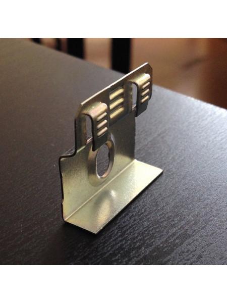 Крепеж для плинтуса Teckwood упаковка 40 шт. (клипсы+дюбели+саморезы)