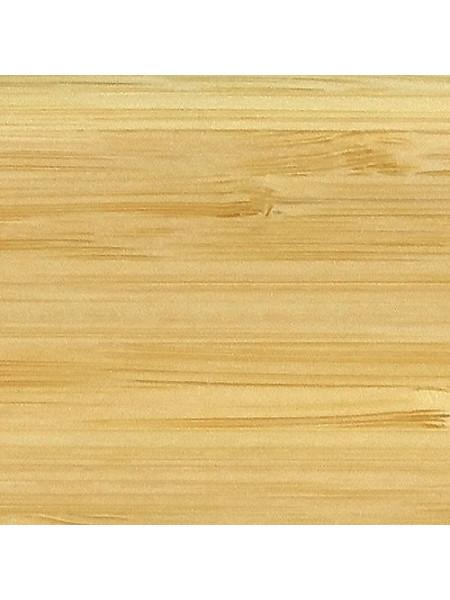 Плинтус Tecnorivest профиль 60х22 Бамбук светлый, 1 м.п.