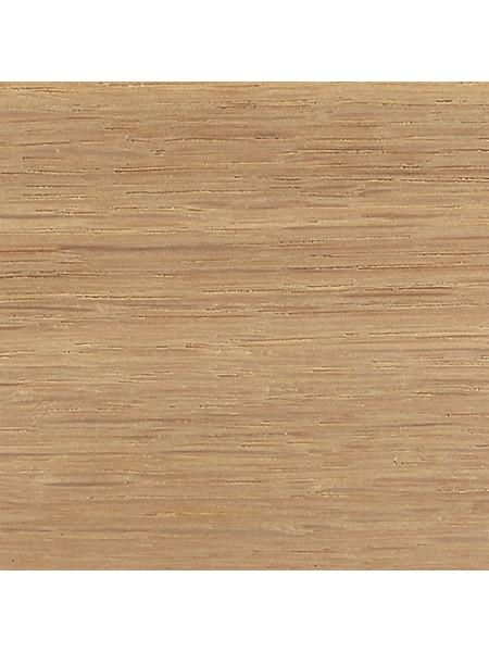Плинтус Tecnorivest профиль 60х22 Дуб без покрытия, 1 м.п.