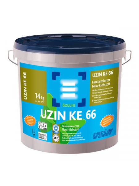 Клей армированный волокном для ПВХ UZIN KE 66 14 кг.