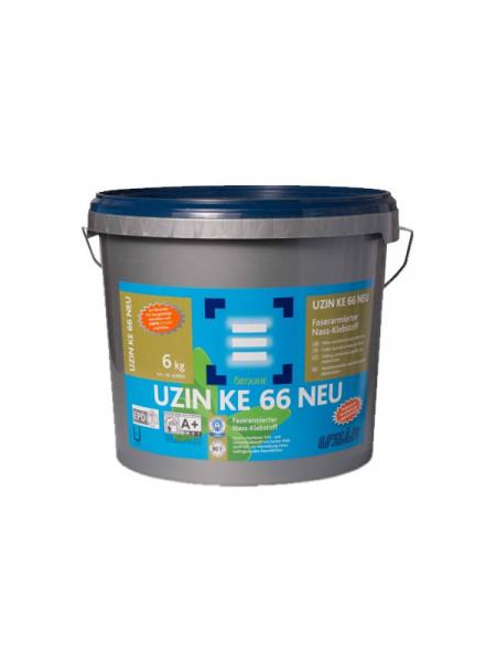 Клей армированный волокном для ПВХ UZIN KE 66 6 кг.