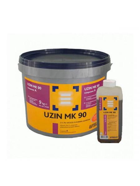 Клей двухкомпонентный полиуретановый UZIN MK 90 10 кг.