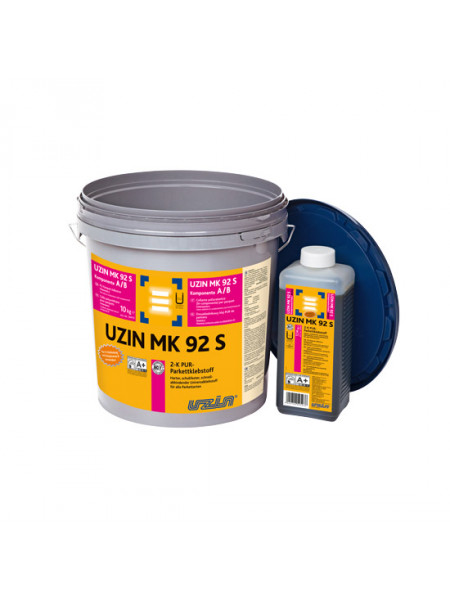 Клей двухкомпонентный полиуретановый UZIN MK 92 S 10 кг.