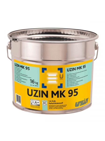 Клей однокомпонентный полиуретановый UZIN MK 95 16 кг.