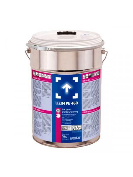 Двухкомпонентная эпоксидная грунтовка UZIN PE 460 10 кг.